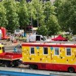Spielmobil-Karawane in Marl