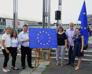 Marl zeigt Flagge für Europa III