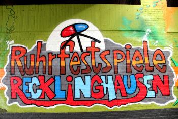 Graffiti-Aktion vor dem Abschluss