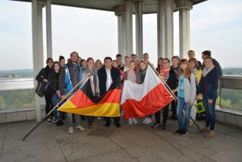 Jugendliche aus dem polnischen Kohlerevier zu Gast
