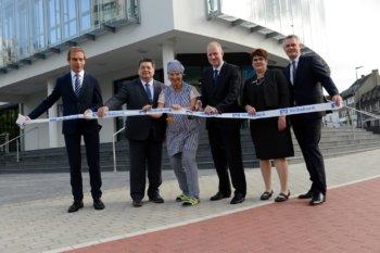 Tadaaa - die neue Volksbank ist fertig!
