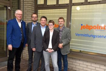 Neuer Jobpoint in Marl eingeweiht