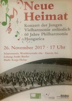 Festkonzert erinnert an Philharmonia Hungarica