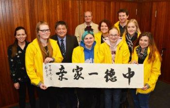 Jugendliche berichten über China-Camp