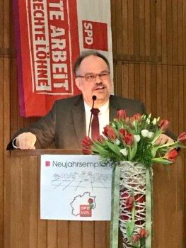 Herzblut, Gefühl und Solidarität beim SPD-Neujahrsempfang