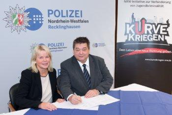 """Polizei und Städte starten """"Kurve kriegen"""""""