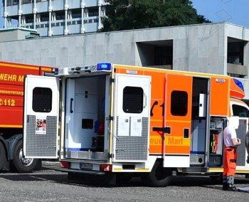 Patient attackiert Rettungskräfte