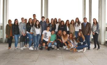 Spanische Schüler zu Gast in Marl