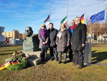 Marl gedenkt der Opfer von Krieg und Gewalt