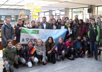 Schüler aus Creil besuchen Bürgermeister