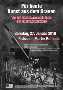 Gedenkfeier Erinnerung an die Opfer des Nationalsozialismus