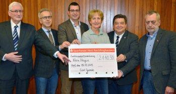 Cent-Spende für das Marler Klara Hospiz