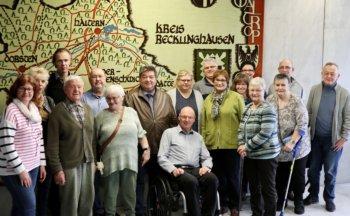 Bürgermeister im Dialog mit Aktiven der Selbsthilfe