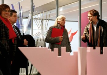Kulturministerin informiert sich über Konzept für Marschall 66
