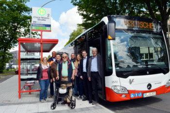 Barrierefrei mit dem Bus fahren