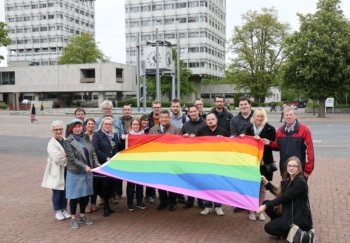 Marl zeigt Flagge für sexuelle Vielfalt