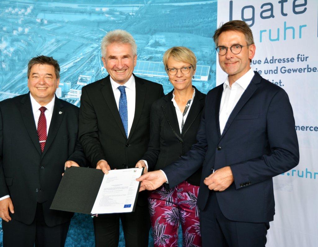"""Land fördert """"gate.ruhr"""" mit 14,5 Mio. Euro"""