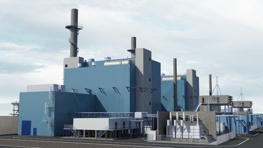 2 neue Gaskraftwerke für den Chemiepark