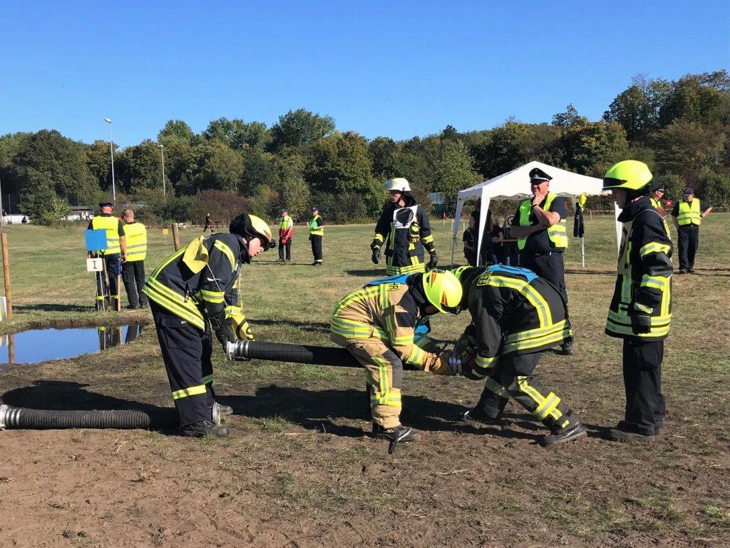 Feuerwehren zeigen ihr Können