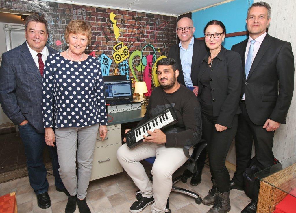 Spende unterstützt Musikcafé