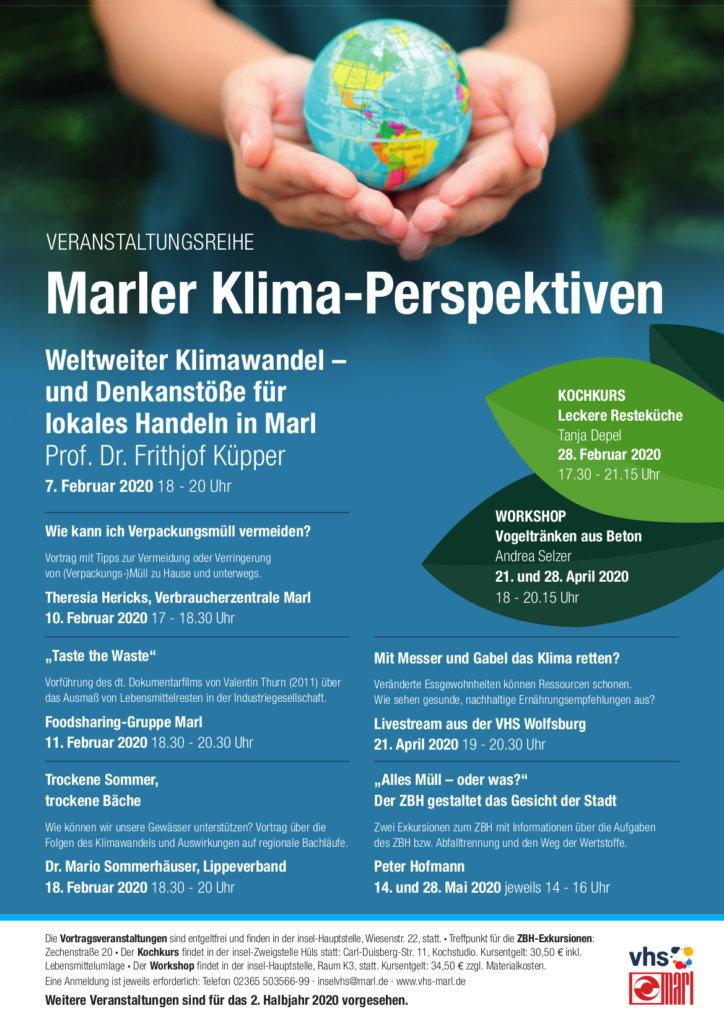 Weltweiter Klimawandel – Denkanstöße für lokales Handeln in Marl