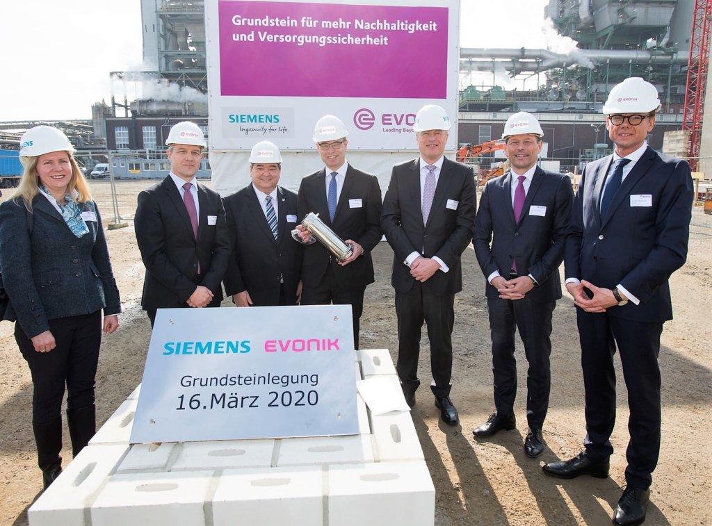 Grundstein für neues Gaskraftwerk im Chemiepark gelegt