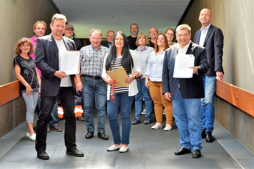 Gewerkschaftler fordern Rettungsschirm