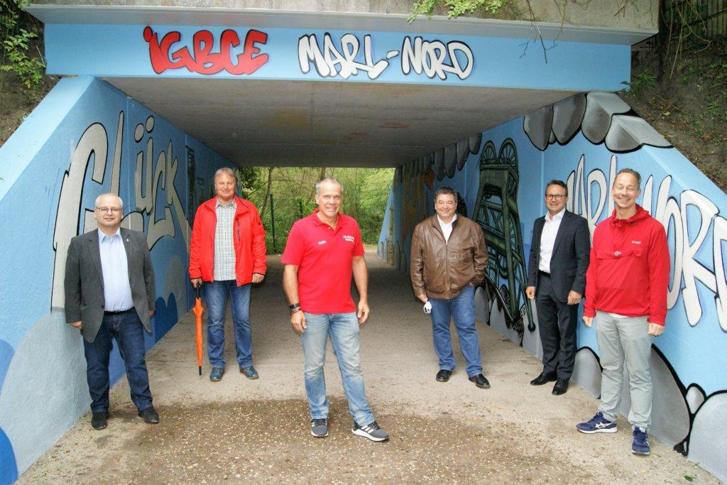 IGBCE Marl-Nord packt an!