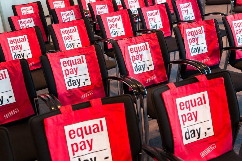 """Ich unterstütze den """"Equal Pay Day"""""""