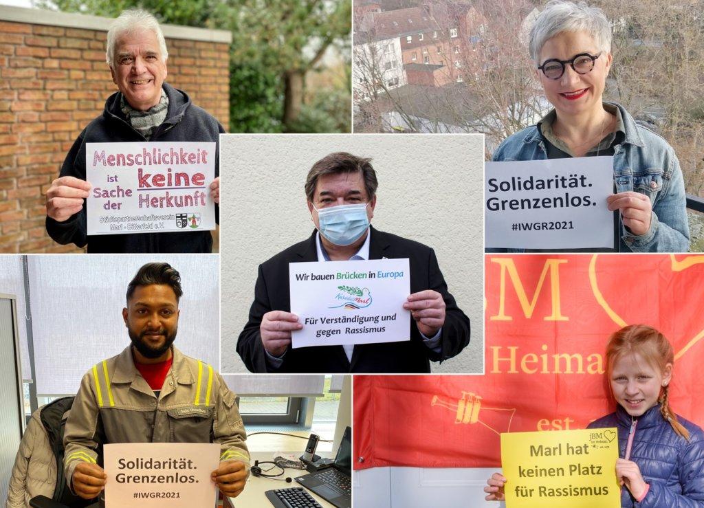 Marl: ein klares Zeichen gegen Rassismus